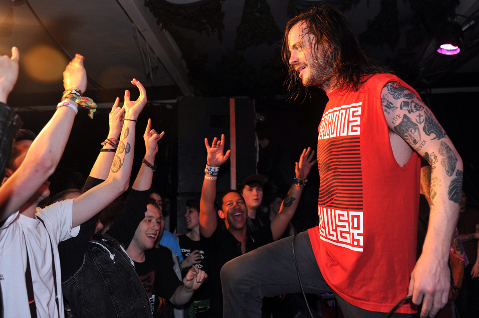 Liam Cormier, Cancer Bats