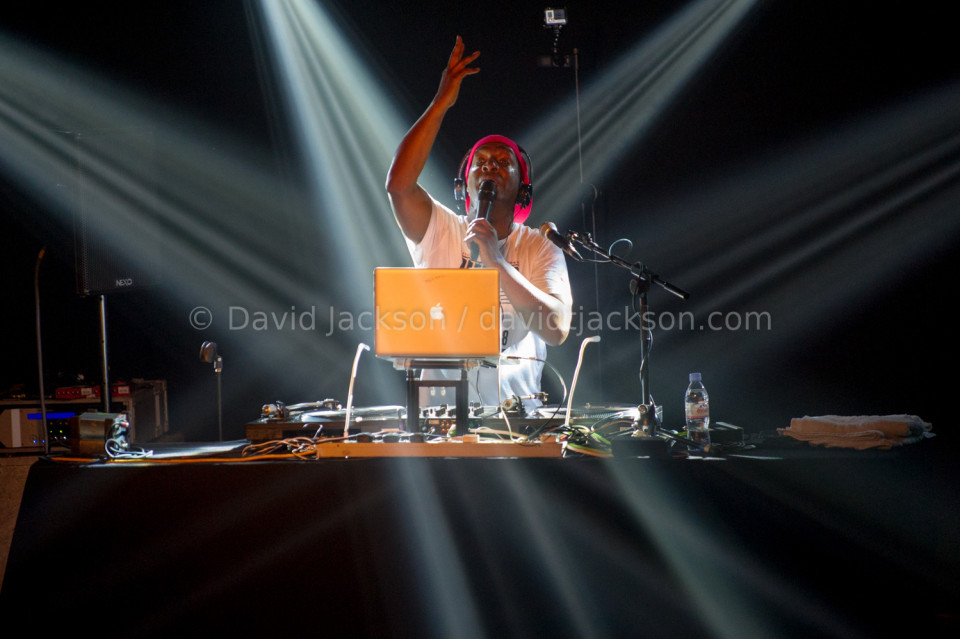 Grand Master Flash, Roadmender, Northampton, Britain, 30 January 2016