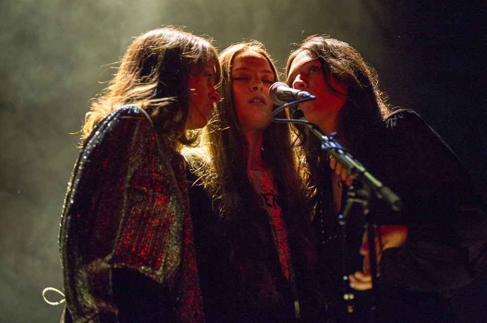 The Staves, Genting Arena, Birmingham, September 19 2015