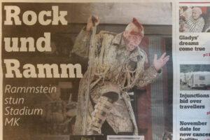 Rammstein, Stadium MK, Milton Keynes